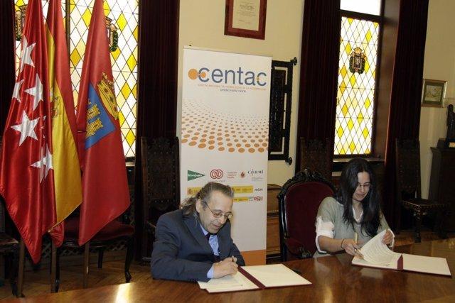 Convenio Ayuntamiento Alcalá de Henares y CENTAC