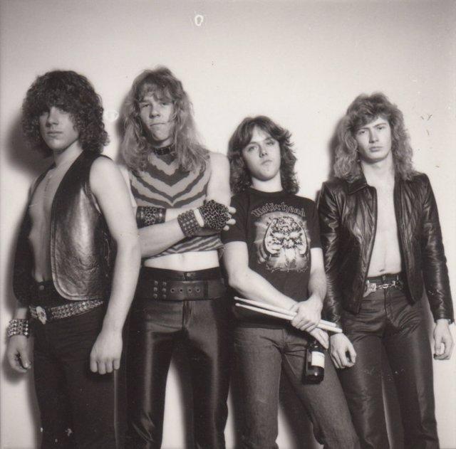 METALLICA EN 1982