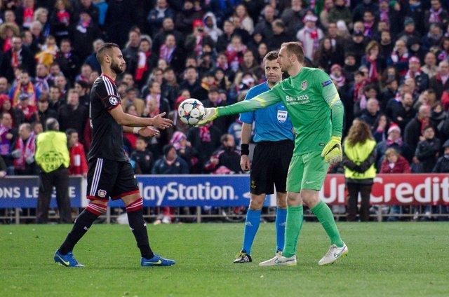 Atletico de Madrid - Bayer 04 Leverkusen, Champions League, 8os vuelta, 17 de Ma