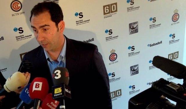 Albert Costa Atiende A Medios De Comunicación