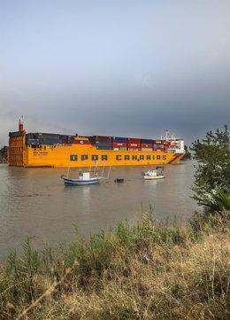 El buque 'OPDR Canarias'
