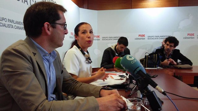 Iñaki Lavandera y Patricia Hernández