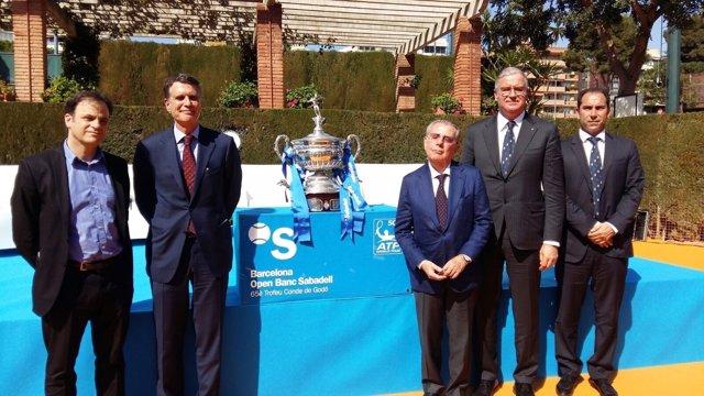 Presentación del Barcelona Open Banc Sabadell-65º Trofeo Conde de G