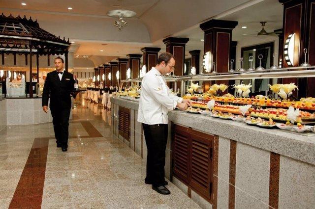 Camareros de hotel