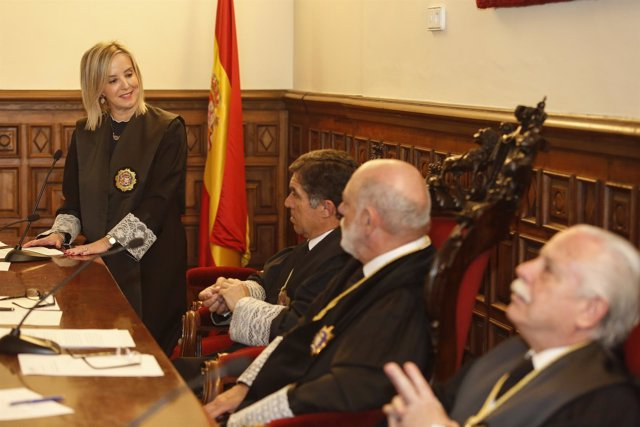 Toma de posesión de la nueva fiscal superior de Andalucía, Ana Tárrago