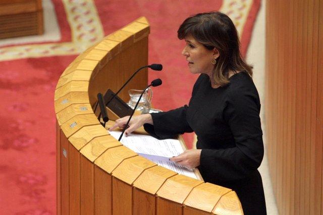 A Conselleira De Medio Ambiente E Ordenación Do Territorio, Beatriz Mato, Interv