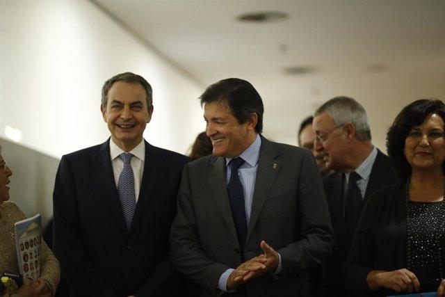 José Luis Rodríguez Zapatero y Javier Fernández
