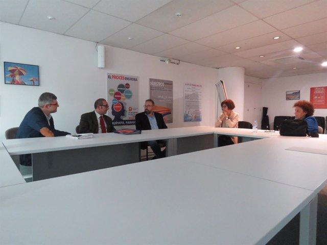 Reunión de SCC con J.C.Girauta (C's)