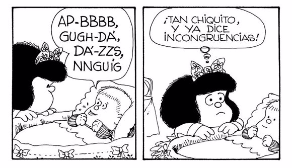 Mafalda y las incongruencias