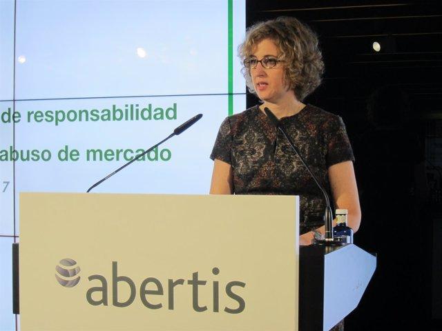 La Vicepresidenta De La CNMV, Ana María Martínez-Pina García