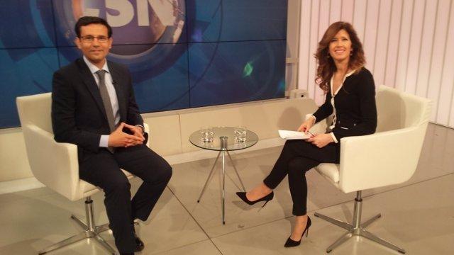 El alcalde de Granada, en la entrevista de Canal Sur Televisión
