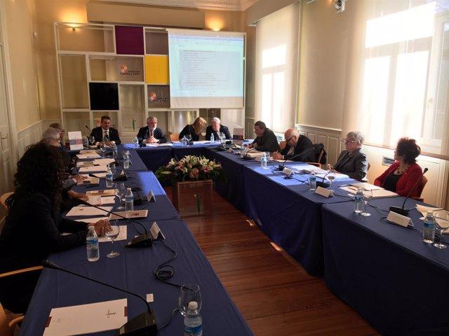Reunión de las academias de la Lengua en Burgos