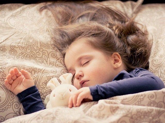 Niña, sueño, dormir
