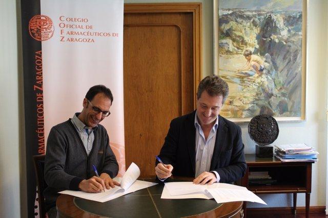 Convenio entre Farmamundi y el Colegio de Farmacéuticos de Zaragoza