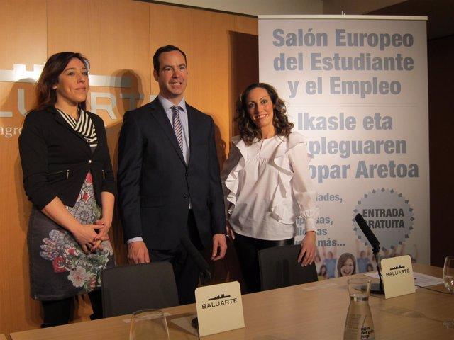Ikerne Astibia, Jon Buxens y Nerea García