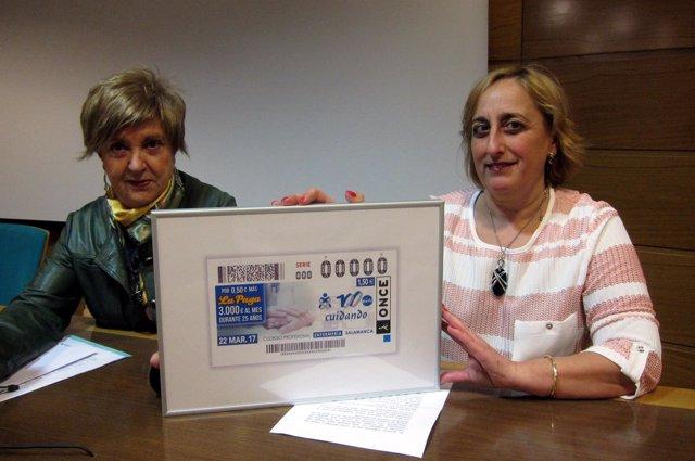 Carmen Sánchez y María Ángeles Ruano