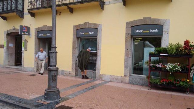 Nueva oficina de Liberbank en Ribadesella, Asturias