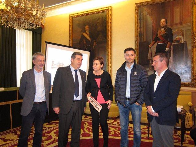 La alcaldesa de Gijón, Carmen Moriyón, presenta el diagnóstico de movilidad