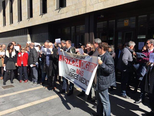 Valladolid.- Un momento de la manifestación