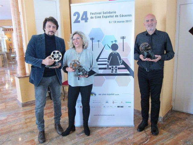 Presentación de la gala de los San Pancracio de Cáceres