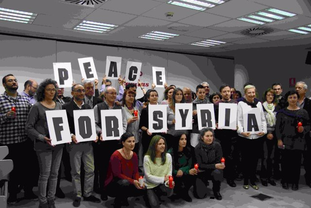 Trabajadore sde Cáritas piden la paz en Siria