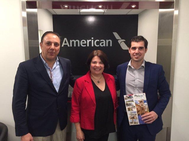 American airlanes eeuu director turismo ayuntamiento málaga