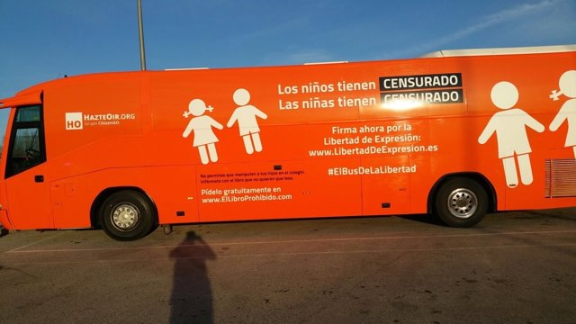 Nuevo autobús de Hazte Oír