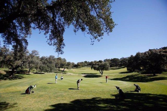Uno de los campos de golf de la provincia