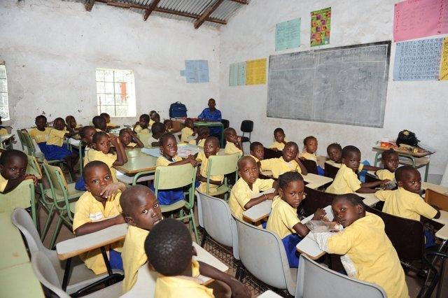 Centro En Los Que Colabora La ONGD 'Asturias X África' En Gambia