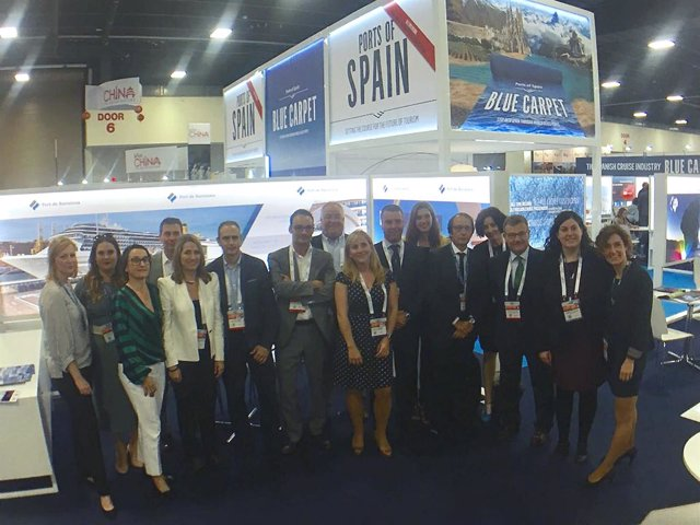 Delegación del Puerto de Barcelona en la Seatrade Cruise Global