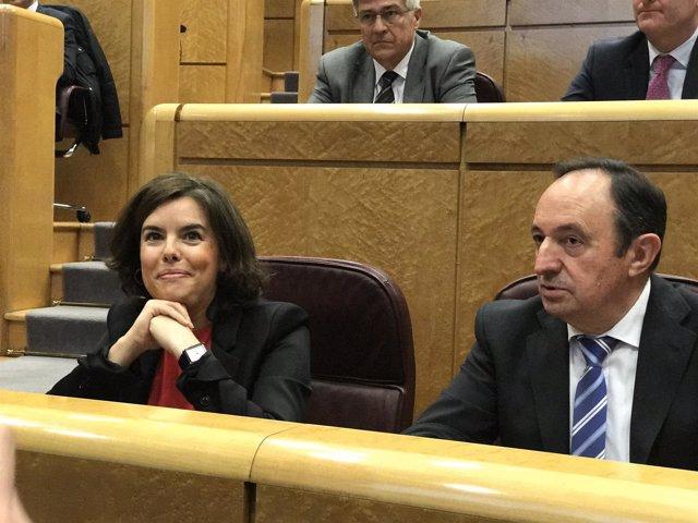 Santamaría y Pedro Sanz