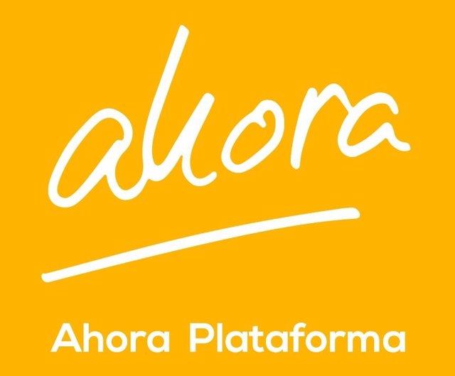 Logo de la Plataforma Ahora, de Gorka Maneiro, Fernando Savater y Félix Ovejero