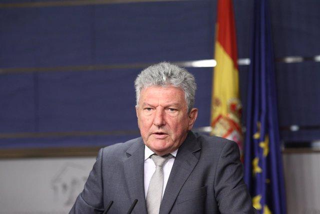 Pedro Quevedo en el Congreso