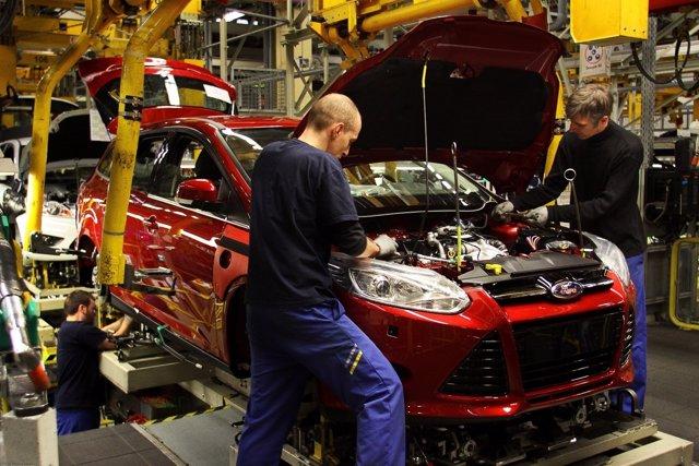 Producción Del Ford Focus En Saarlouis (Alemania)