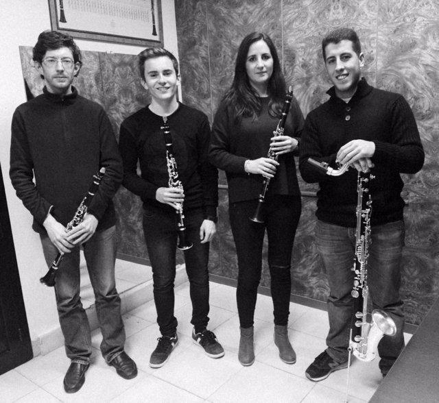 Cuarteto de Clarinetes del Conservatorio Profesional 'Juan Vázquez'