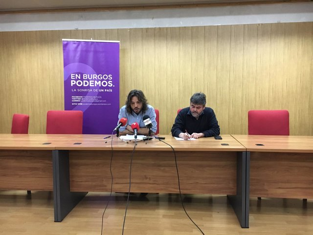Burgos: Miguel Vila (I) y Lacámara (D)
