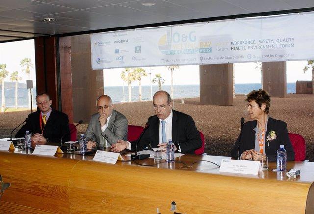 Antonio Morales y Pedro Ortega (centro)