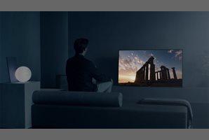 Sony presenta televisor que lanza el sonido desde la pantalla