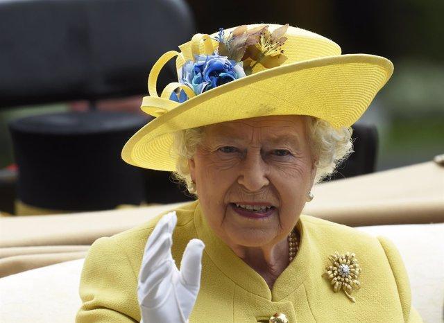 La reina Isabel II de Reino Unido