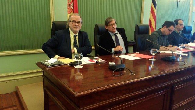 Andreu Manresa en la comisión de control sobre IB3