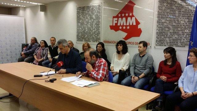 David Lucas y Paco Garrido durante la rueda de prensa.