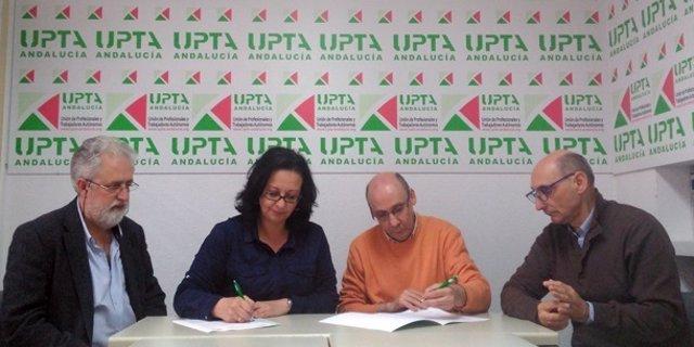 Acuerdo entre la Asociación de Músicos de Sevilla (Amuse) y UPTA-A
