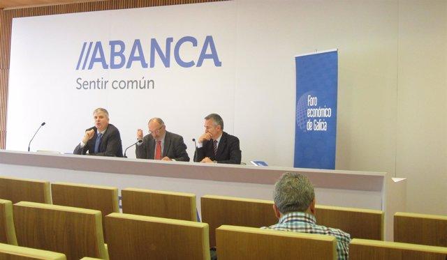 Rueda de prensa del Foro Económico de Galicia