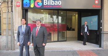 BIG Bilbao ekintzailetza zentroa inauguratu dute, enpresa eta negozio...