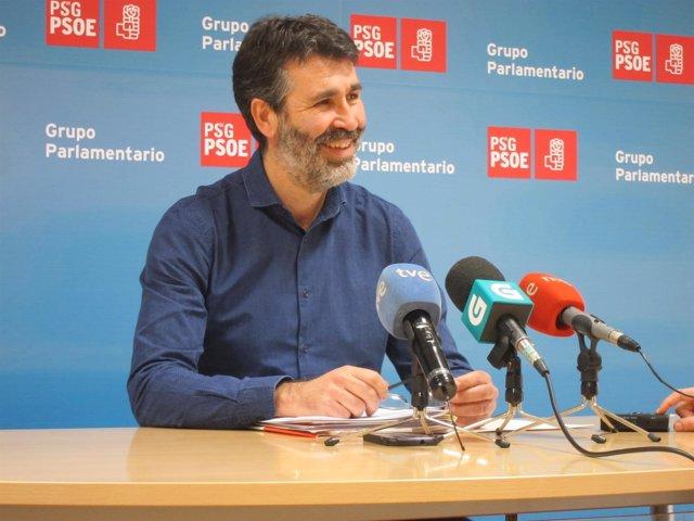El socialista Juan Manuel Díaz Villoslada.