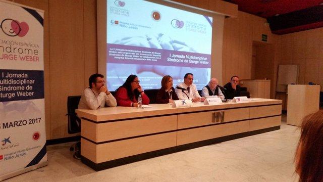 Presentación de la 'I Jornada Multidisciplinar Síndrome Sturge Weber'