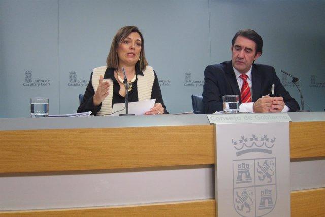 Valladolid. Marcos y Suárez-Quiñones tras el Consejo