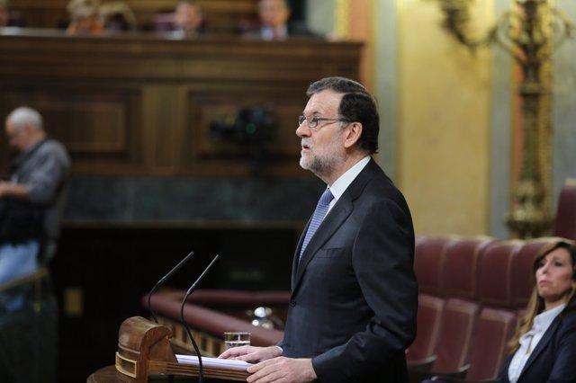 Rajoy informa en el Congreso sobre el último Consejo Europeo