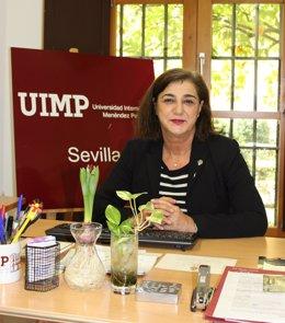 La directora de la sede de la UIMP en Sevilla, Encarnación Aguilar