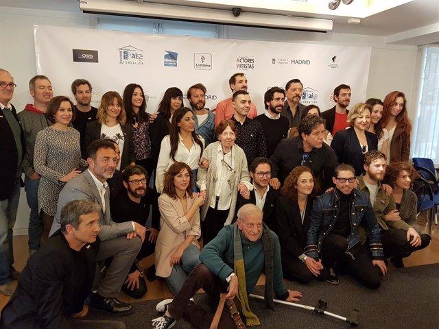 Presentación Premios Unión de Actores